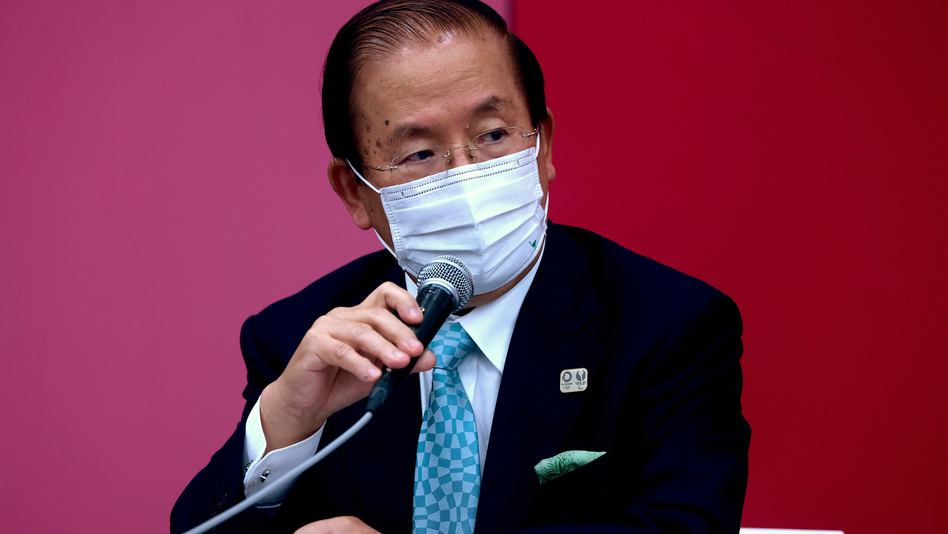 Tokyo 2020 CEO Toshiro Muto says officials will evaluate the status of the Games depending on the rates of coronavirus infections. (Behrouz Mehri /Getty Images)