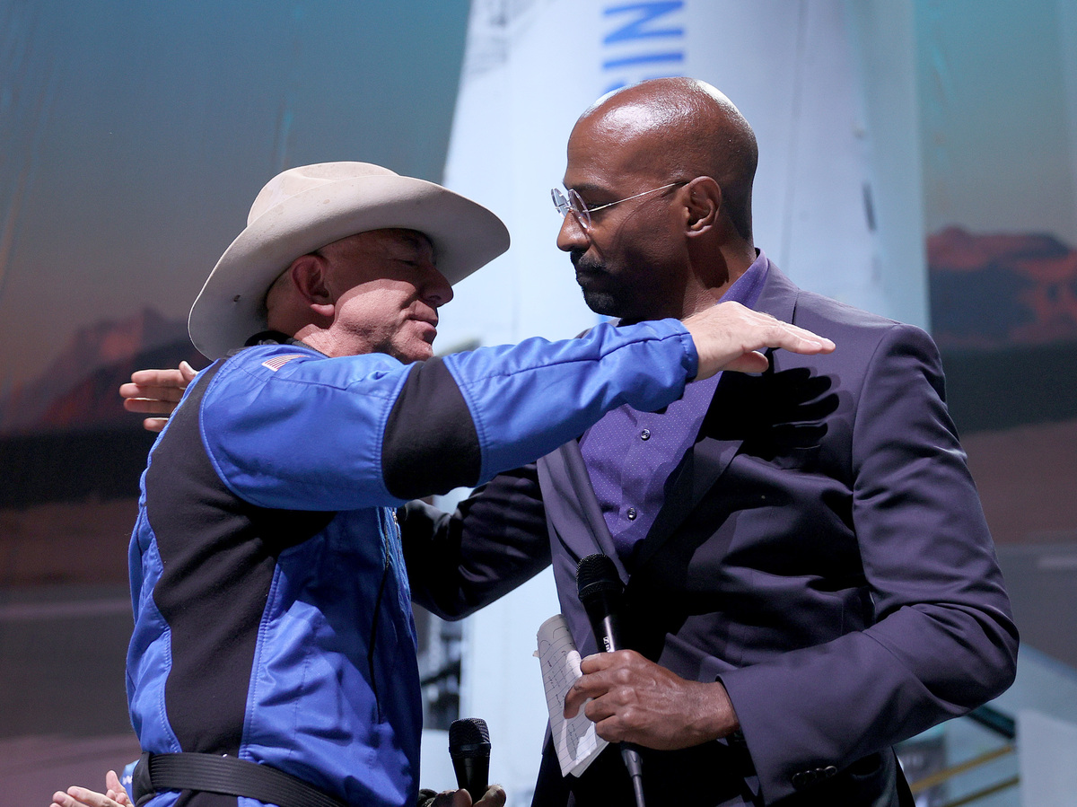 Jeff Bezos gives Van Jones and Jose Andres millions after space flight: NPR