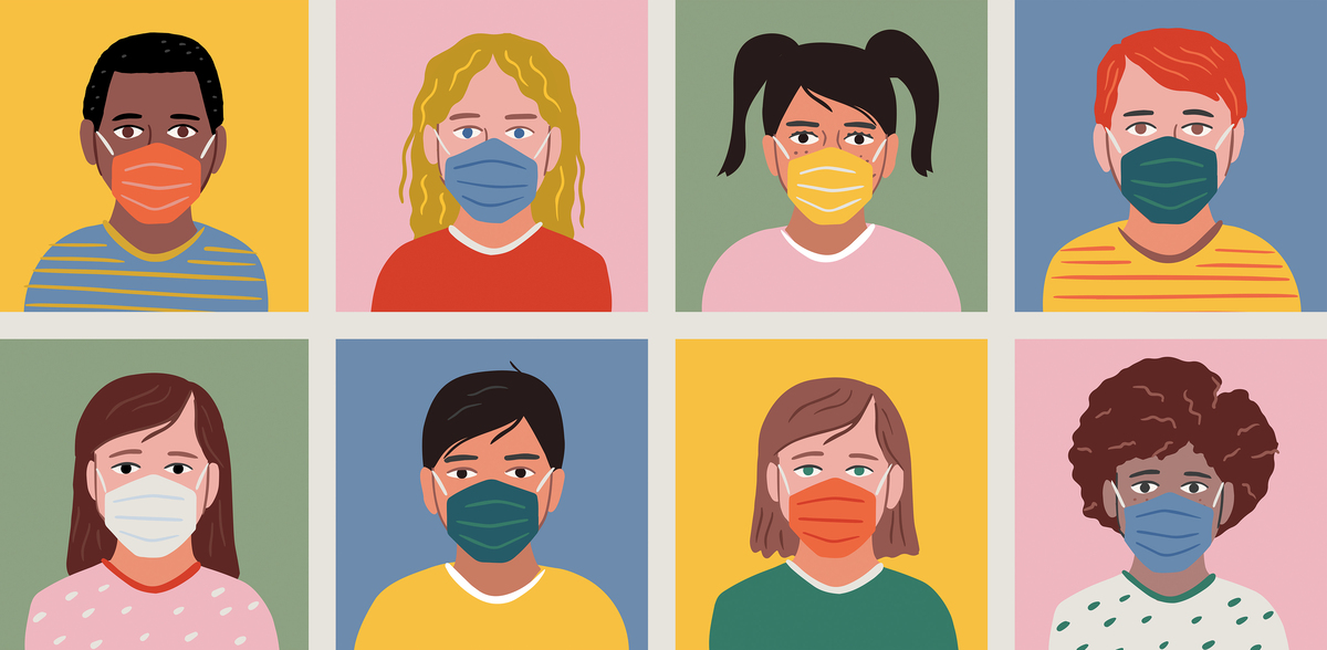Everyone should mask themselves in schools, vaccinated or not, Says AAP: NPR