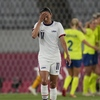 Top-Ranked U.S. Women's Soccer Team Falls To Sweden In Olympic Stadium With No Fans