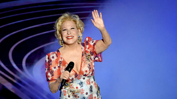 Bette Midler performs during the 91st Annual Academy Awards at Dolby Theatre on Feb. 24, 2019, in Hollywood, Calif.