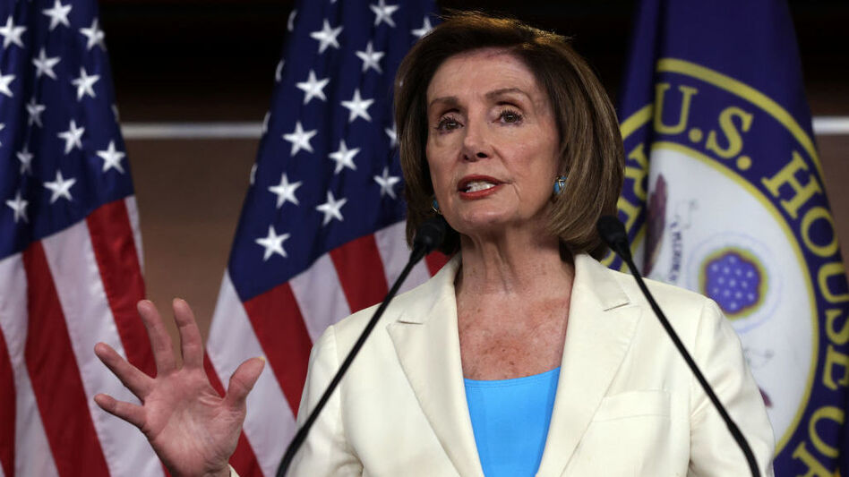 House Speaker Nancy Pelosi, D-Calif., pictured on July 1, has rejected two of the five members nominated by Minority Leader Kevin McCarthy to serve on the Jan. 6 select committee to investigate the U.S. Capitol riot. (Alex Wong/Getty Images)