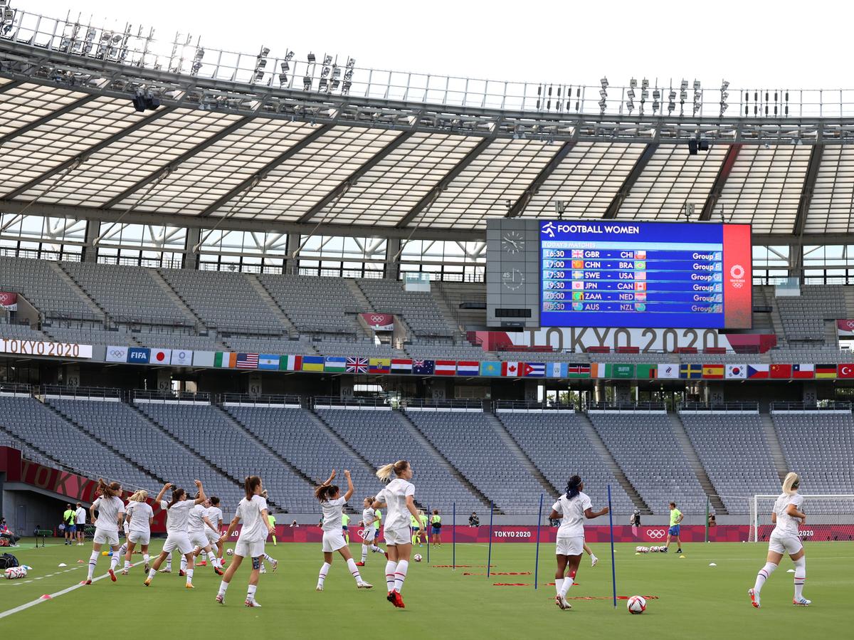Live Updates: Tokyo Olympics: NPR