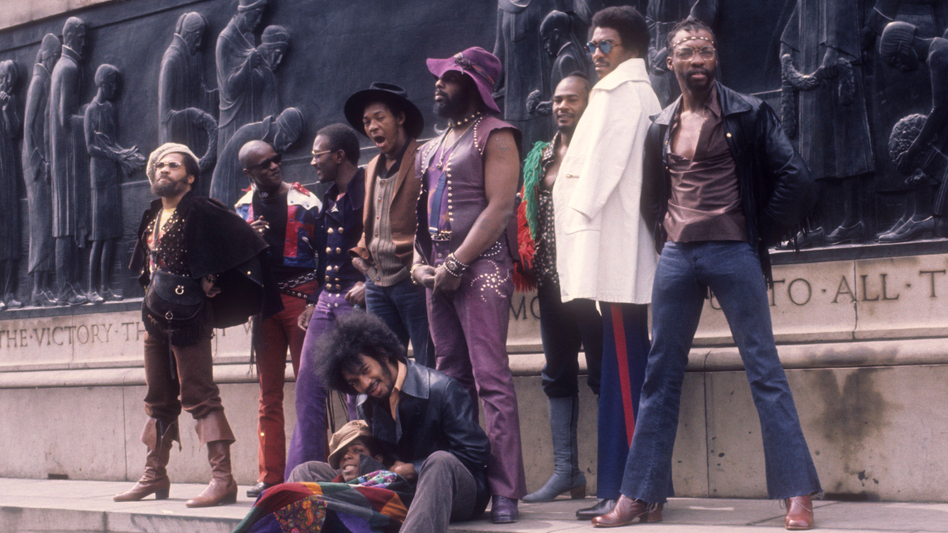 """Funkadelic is the result of George Clinton flirting with psychedelic music, a style he describes as """"loud R&B."""" (Michael Ochs Archives/Getty Images)"""