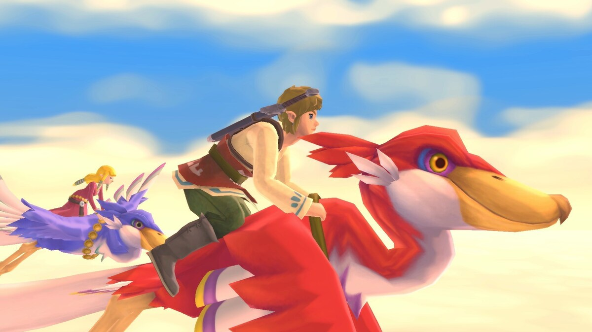 """Legend Of Zelda: Skyward Sword HD"": NPR"