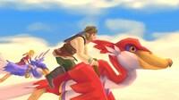 Take a flight on a Loftwing in the new <em>Skyward Sword HD.</em>