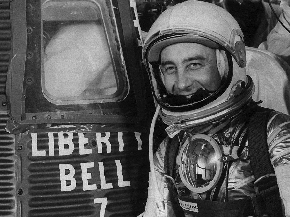 Gus Grissom did not trigger Mercury capsule hatch after Splashdown: NPR