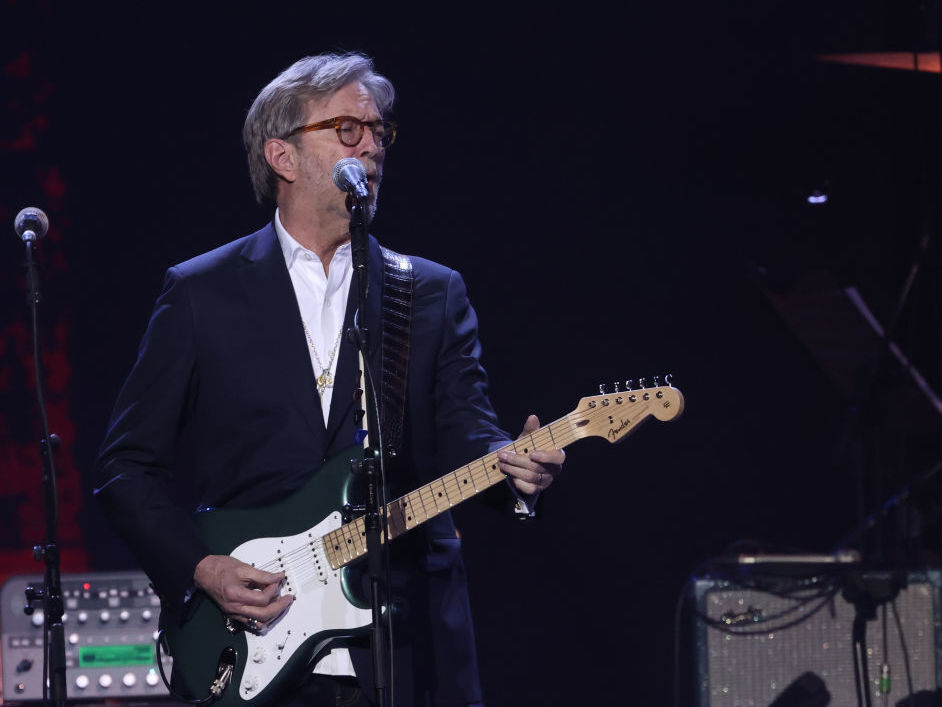Eric Clapton says he won't perform in venues that require COVID vaccines: NPR