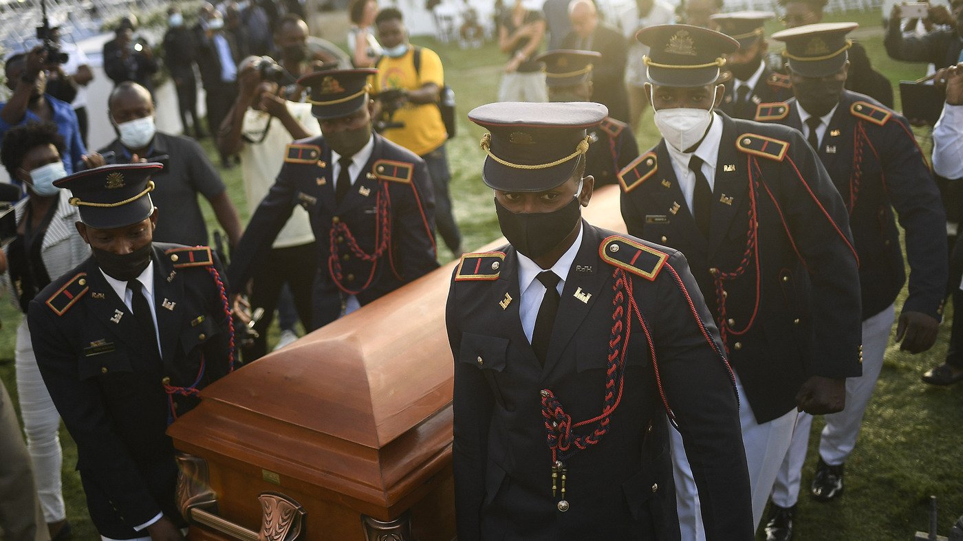Haitian President's Hometown Funeral Receives Protests: NPR
