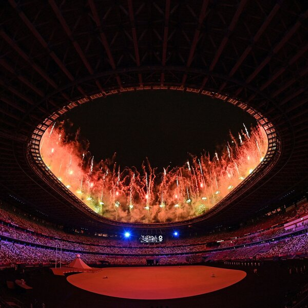 Photos: Highlights Of The Tokyo Summer Olympics Opening Ceremony