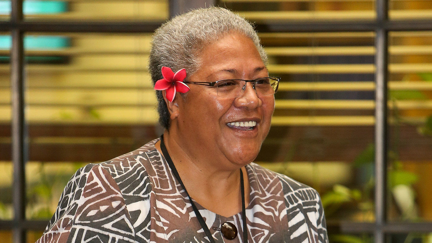 Samoa Confirms 1st Female Prime Minister, Fiame Naomi Mata'afa - NPR