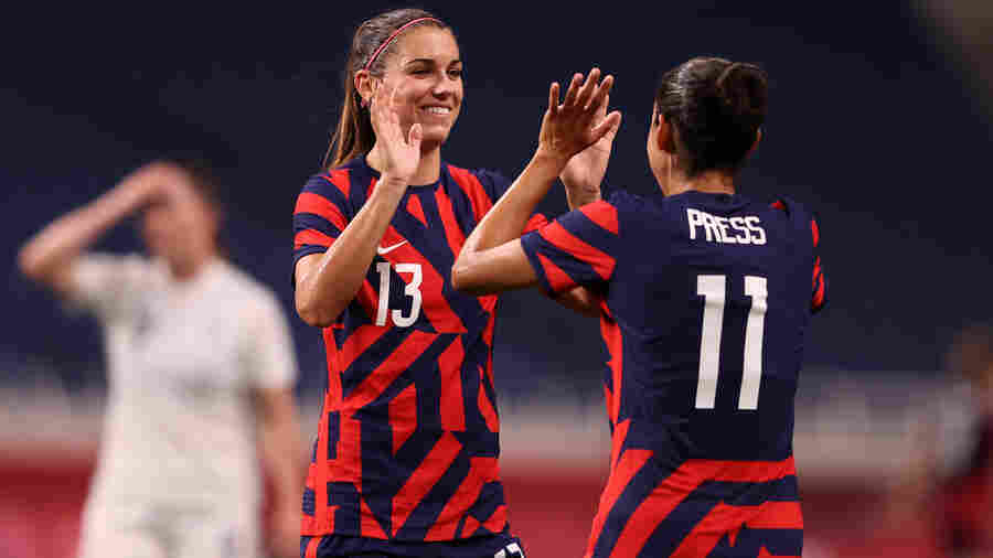 U.S. Women's Soccer Team Beats New Zealand In A Much-Needed Olympics Comeback
