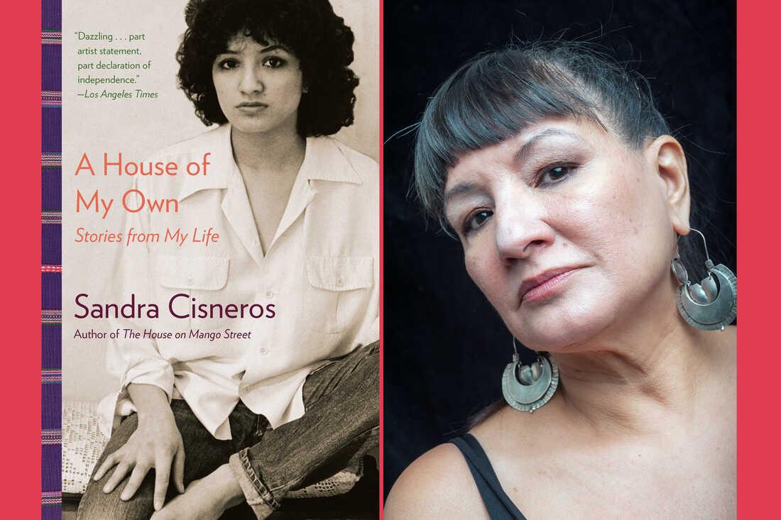 a portrait of Sandra Cisneros