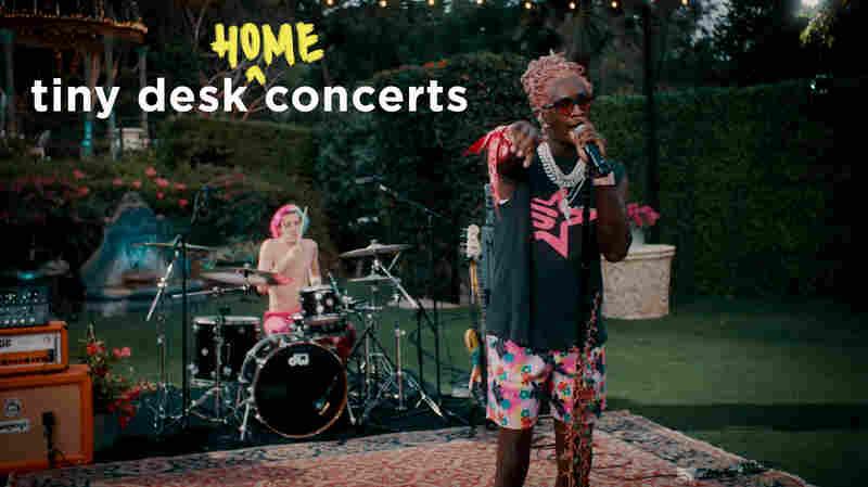 Young Thug: Tiny Desk (Home) Concert