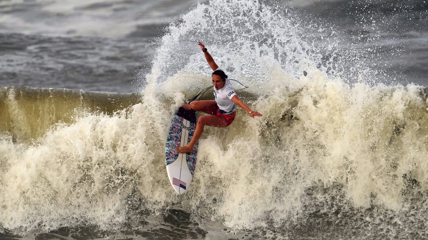 U.S. Surfer Carissa Moore Wins The First Gold Medal Ever In Her Sport At The Olympics