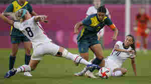 U.S. Women's Soccer Team Advances To Knockout Round After A Draw Against Australia
