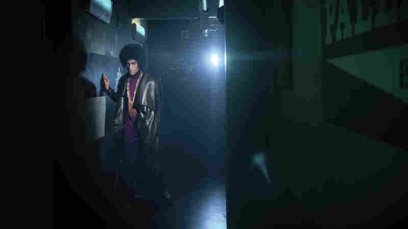 Prince at the Hollywood Palladium where one of his pop-up performances took place.