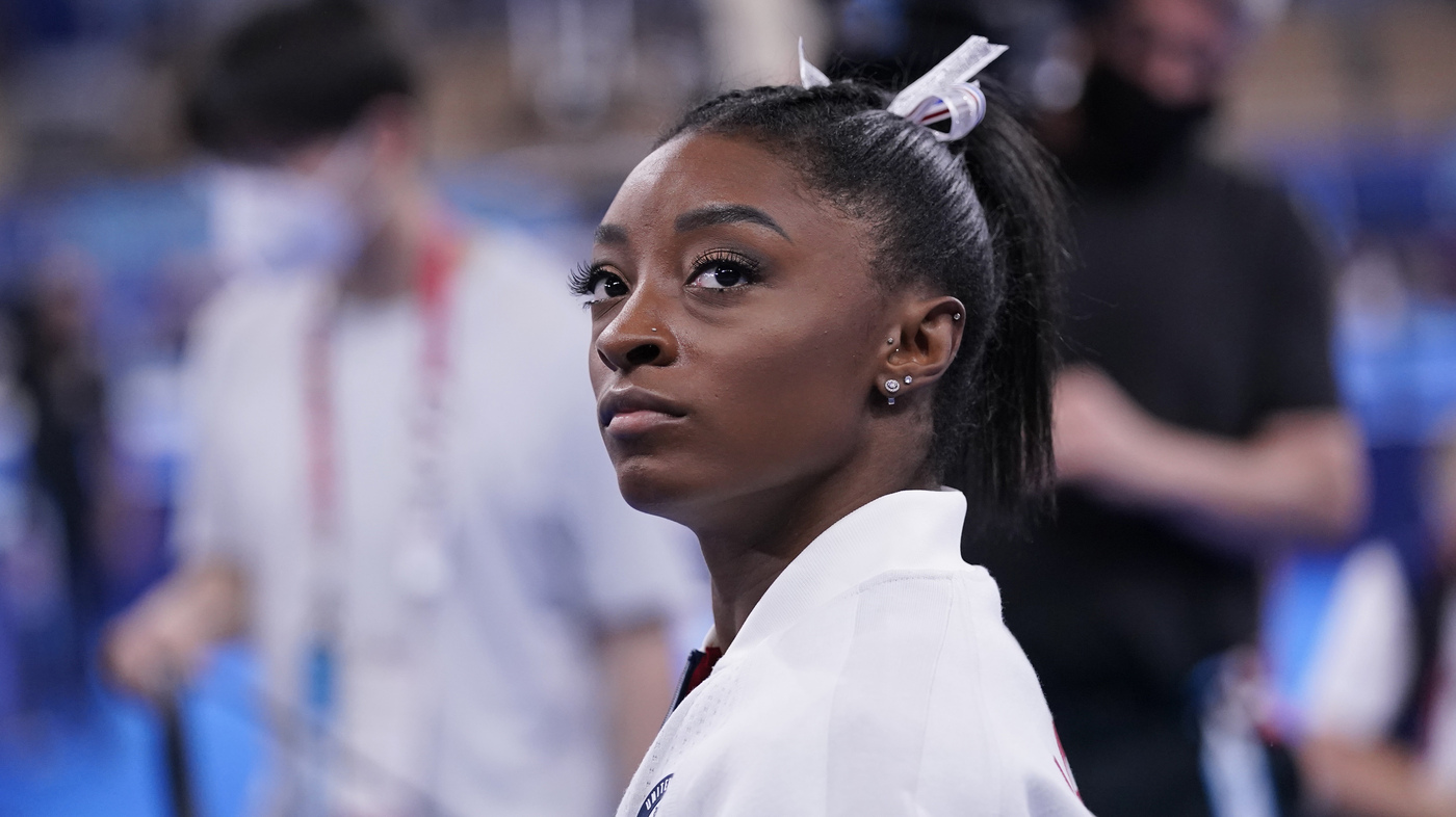 Simone Biles Now Realizes She's More Than Her Gymnastics Accomplishments - NPR