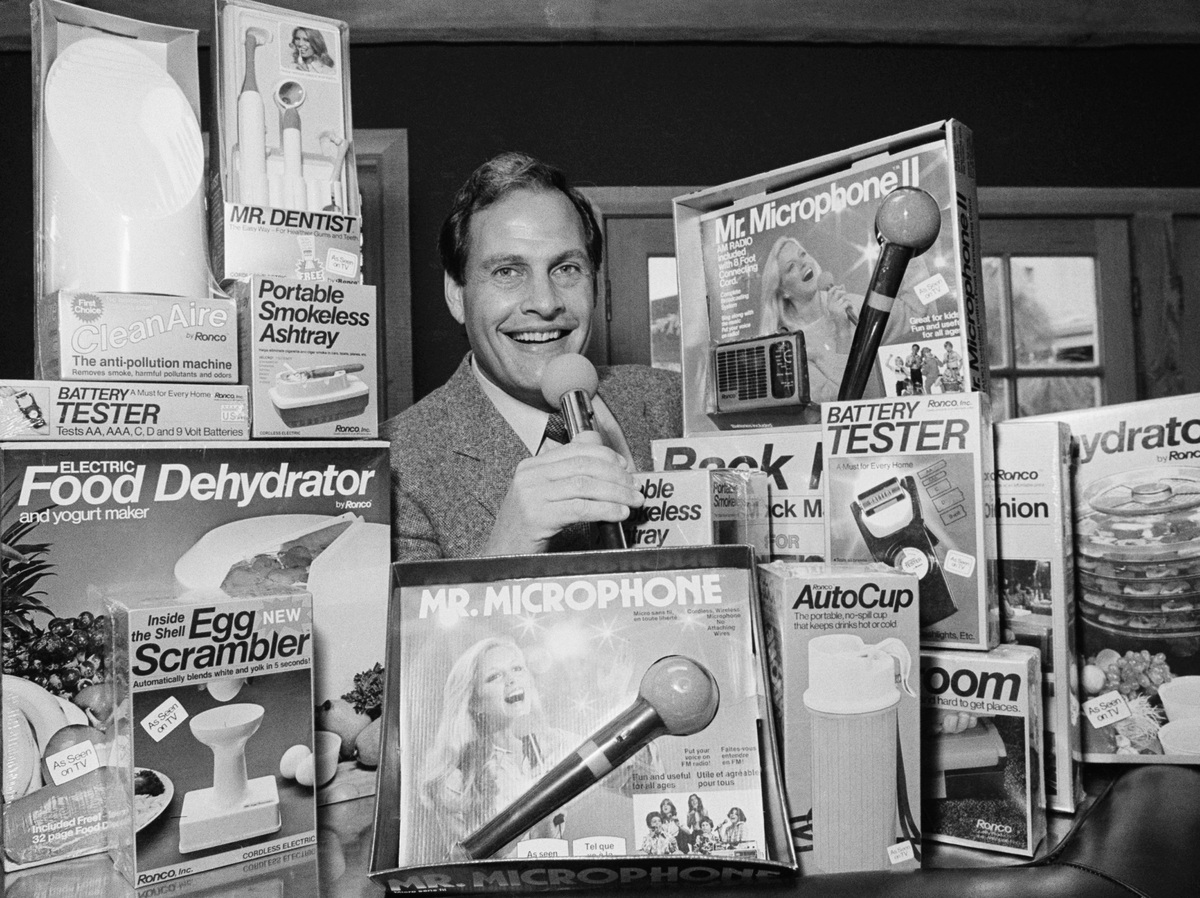 Salesman and inventor Ron Popeil dead at 86: NPR