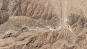 A New Tunnel Is Spotted At A Chinese Nuclear Test Site