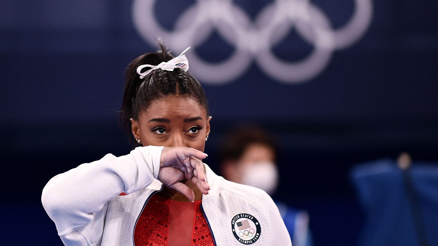 Black Olympians Often Have 'The Weight Of The World' On Their Shoulders