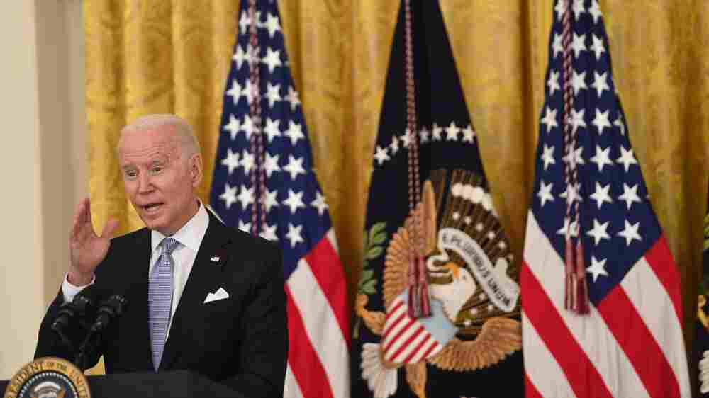 Biden Hopes To Boost COVID Vaccination Rates By Focusing On Federal Workers