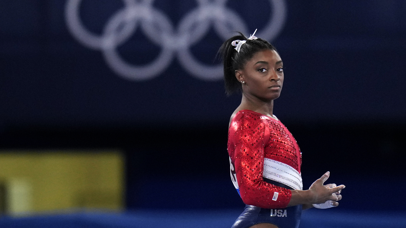 Simone Biles Withdraws From The Vault And Uneven Bars Finals At The Olympics
