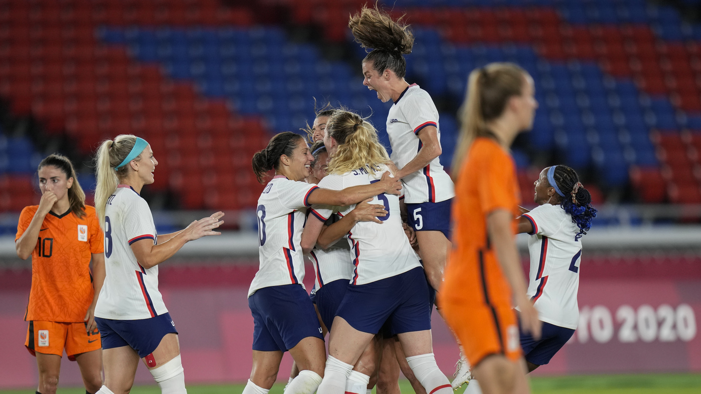 U.S. Women's Soccer Team Beats The Netherlands And Advances To Olympic Semifinals