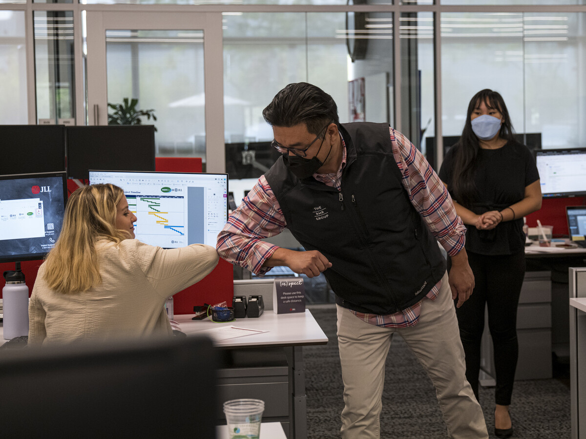 As the delta variant increases, companies are considering options on masks and vaccines.  : NPR