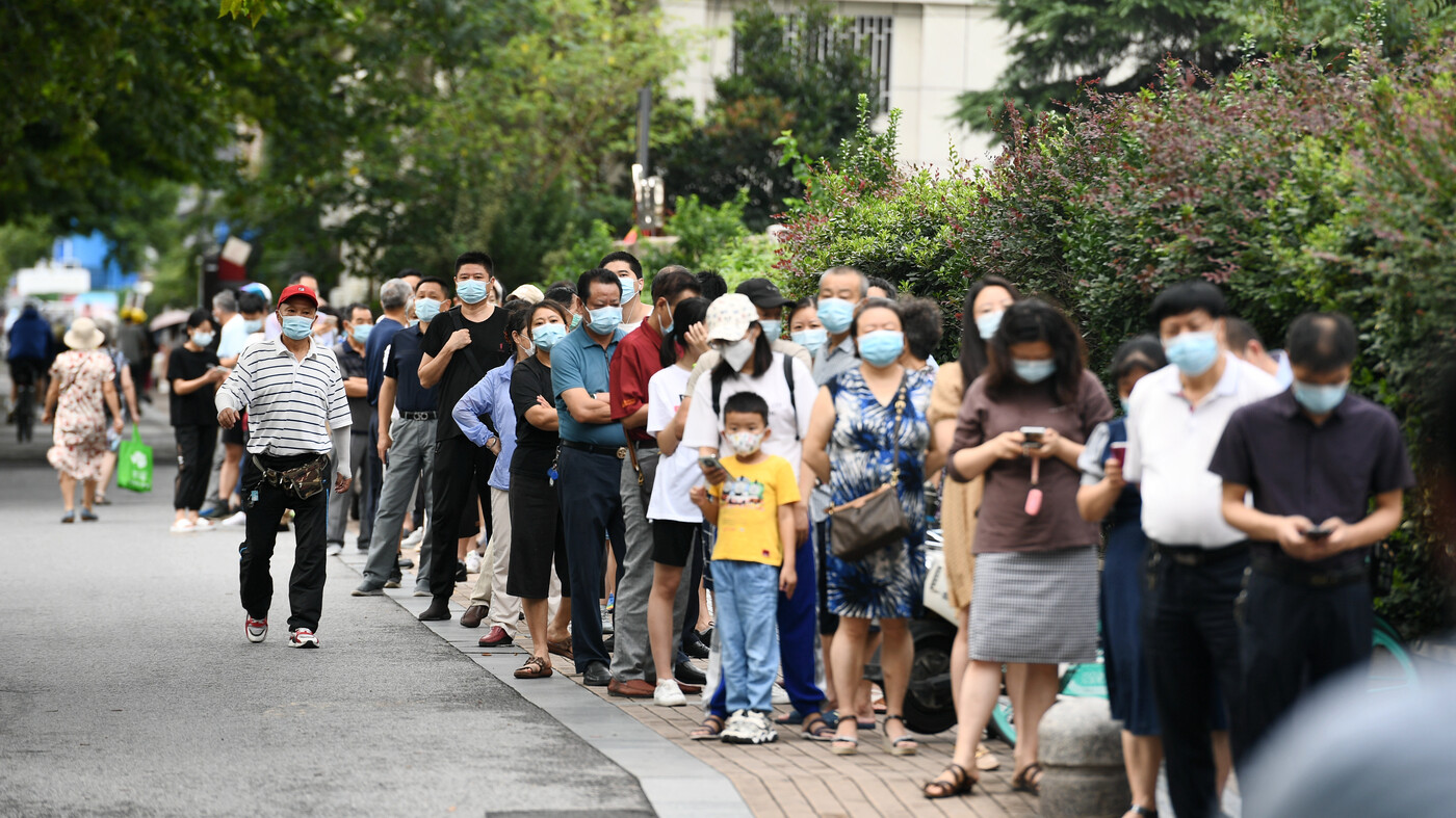 An Outbreak Of The Coronavirus Delta Variant Has Spread To 15 Chinese Cities