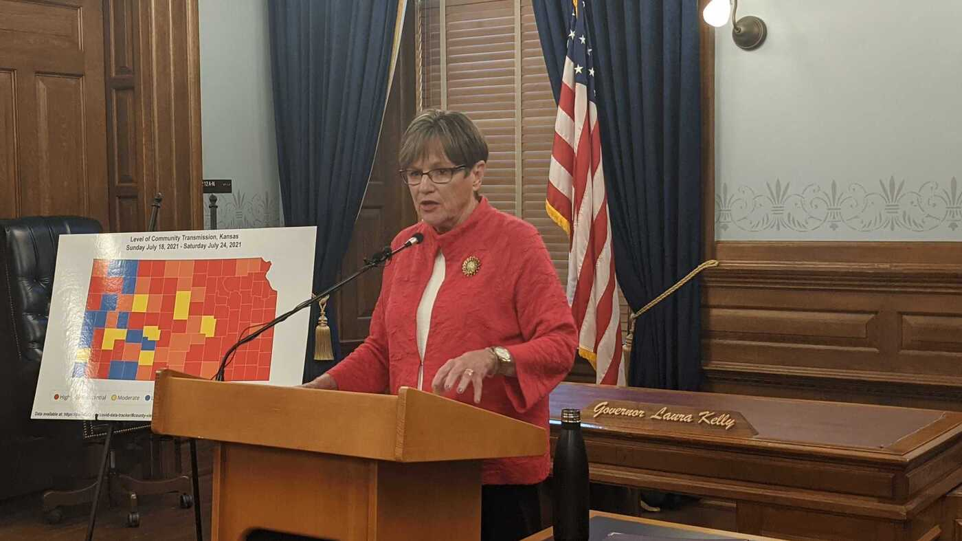 As COVID Concern Grows In Kansas, So Does Confusion Over Who Is In Charge