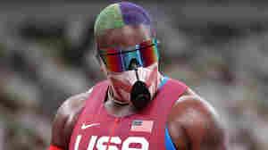 Raven Saunders Goes Into 'Joker' Mode At Tokyo Olympics