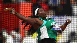 Disqualified Nigerian Athletes Protest At Olympic Village