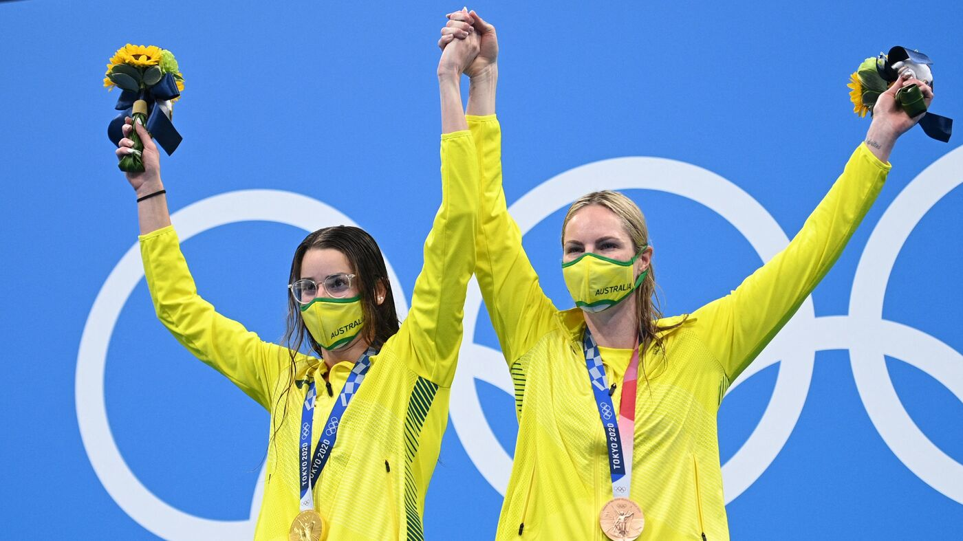 An Australian Gold Medalist Invited Her Bronze-Winning Teammate To Share The Podium