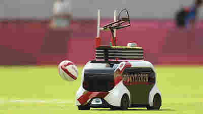 Say Hello To The Tokyo Olympic Robots
