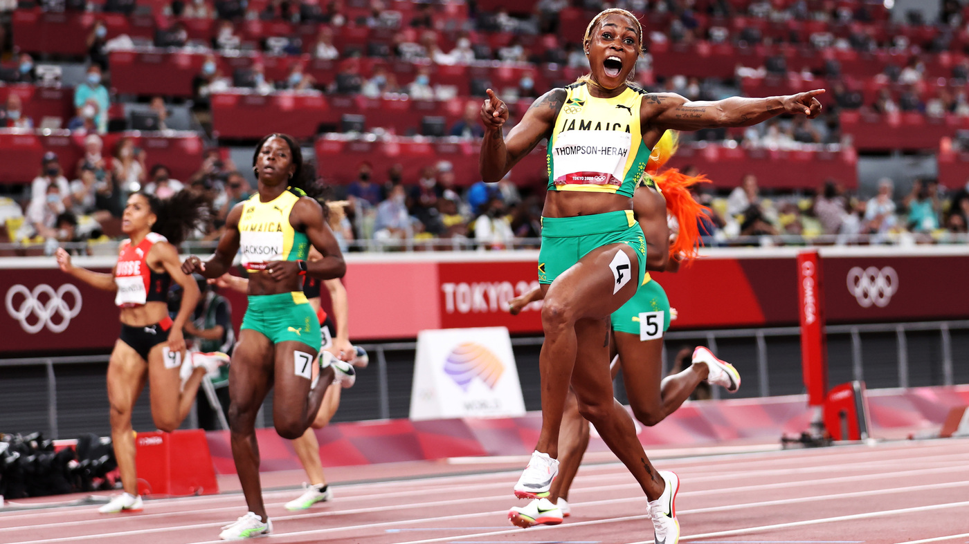 Elaine Thompson-Herah Is Crowned The Fastest Woman In The World At The Tokyo Games