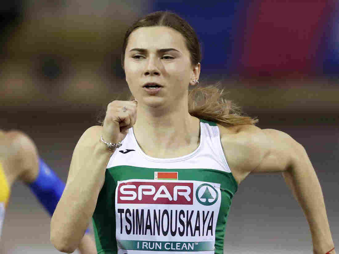 Belarusian Olympian Says She Was Forcibly Taken To Airport After Criticizing Coaches