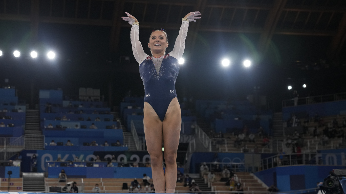 U.S. Gymnast MyKayla Skinner Medals In An Event She Didn't Expect To Compete In