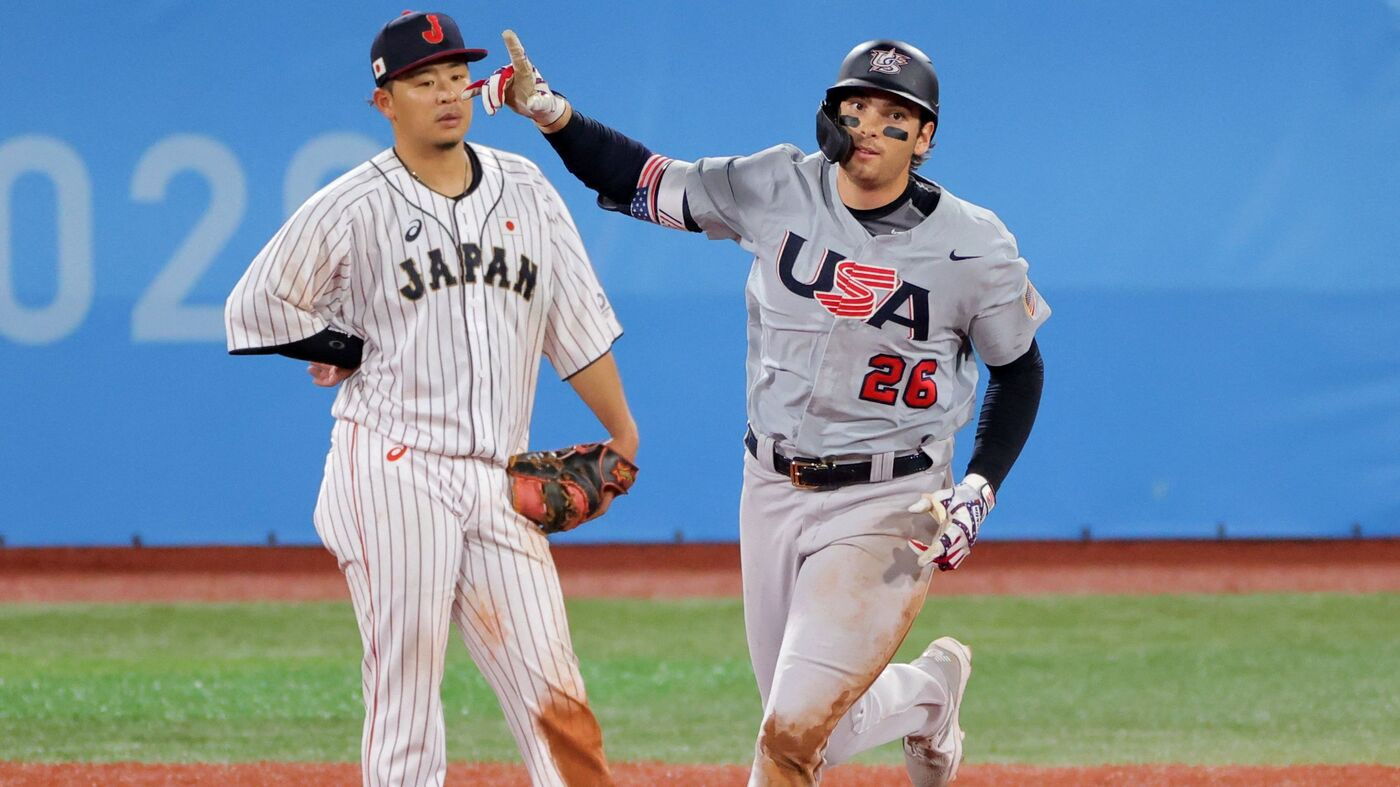 U.S. Baseball Team Loses To Japan, But It Still Has A Tight Path To Gold Medal Game