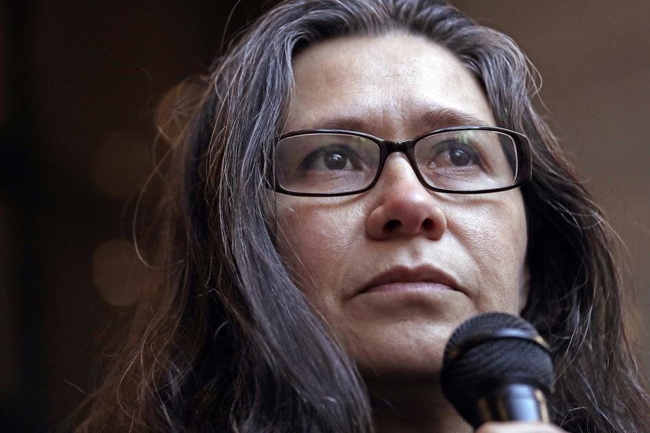 Longtime activist Maru Mora-Villalpando says ICE placed her in deportation proceedings in retaliation for her work. (Elaine Thompson/AP)