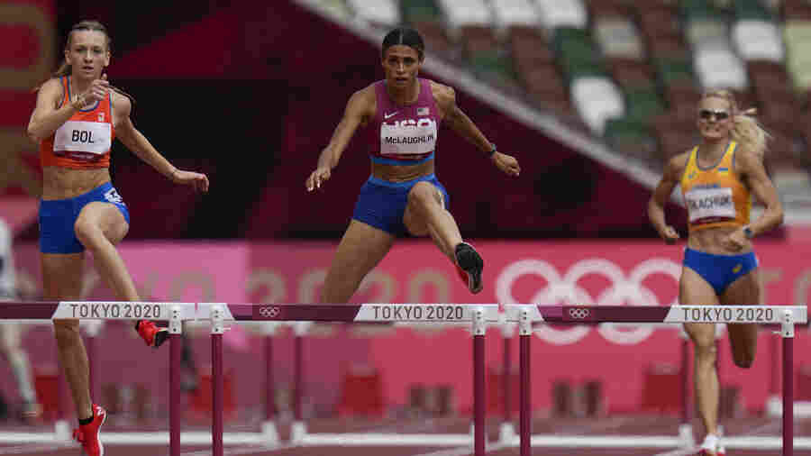 U.S. Takes Olympic Gold And Silver In The Fastest Women's 400 Meter Hurdle Race Ever