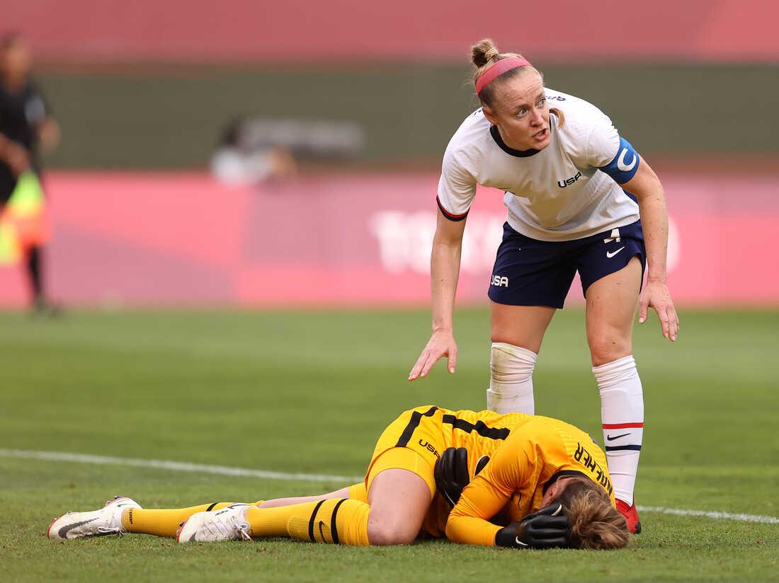 U.S. Goalkeeper Alyssa Naeher Won't Play In Women's Olympic Bronze Medal Match