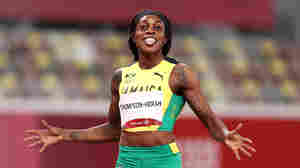 Jamaican Sprinter Elaine Thompson-Herah Wins Historic 'Double-Double' In Track