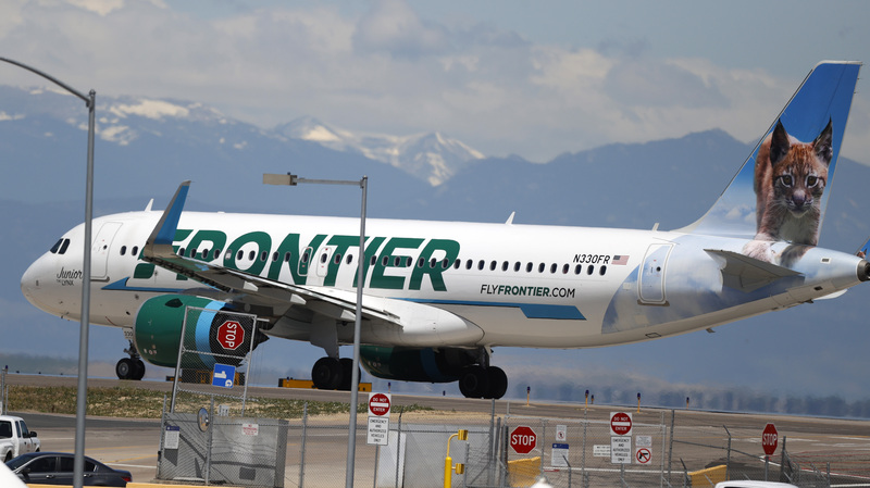 Frontier Airlines Passenger Taped To Seat After Allegedly Groping And Assaulting Crew