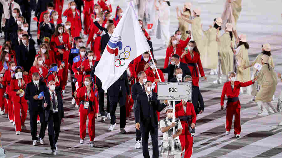 Once Again, Banned Russians Raise Questions About Doping At The Olympics