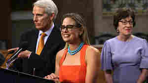 Unapologetically Moderate, Democrat Kyrsten Sinema Says She's Focused On Results