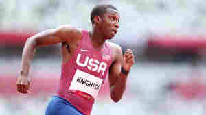 Meet The High School Track Prodigy Competing In The Olympic 200-Meter