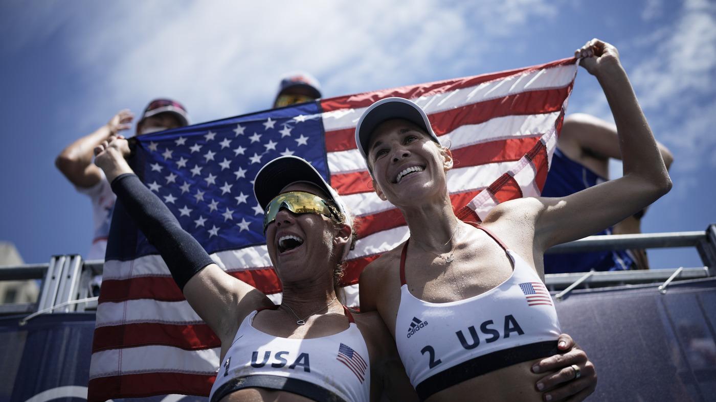 U.S. Women Take Olympic Gold In Beach Volleyball