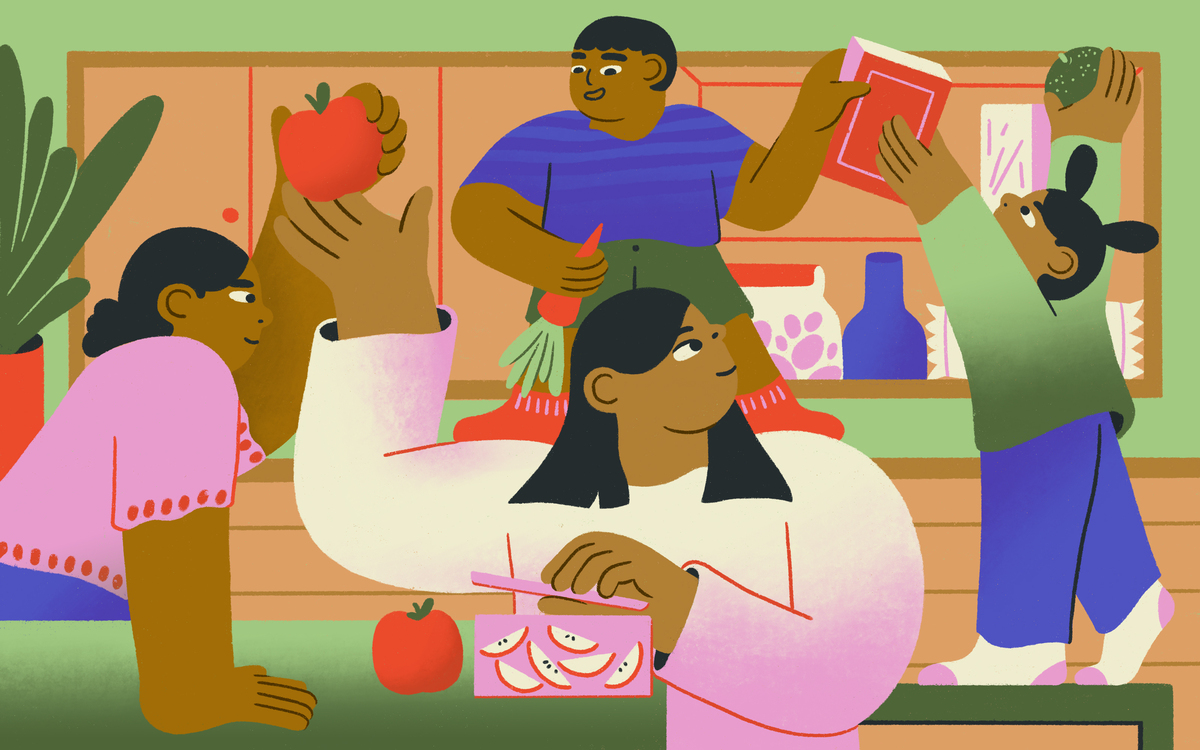 Many of us have gained weight during the pandemic, including kids. But talking to kids about weight can be tricky. One approach: focus less on weight and get healthier as a family.