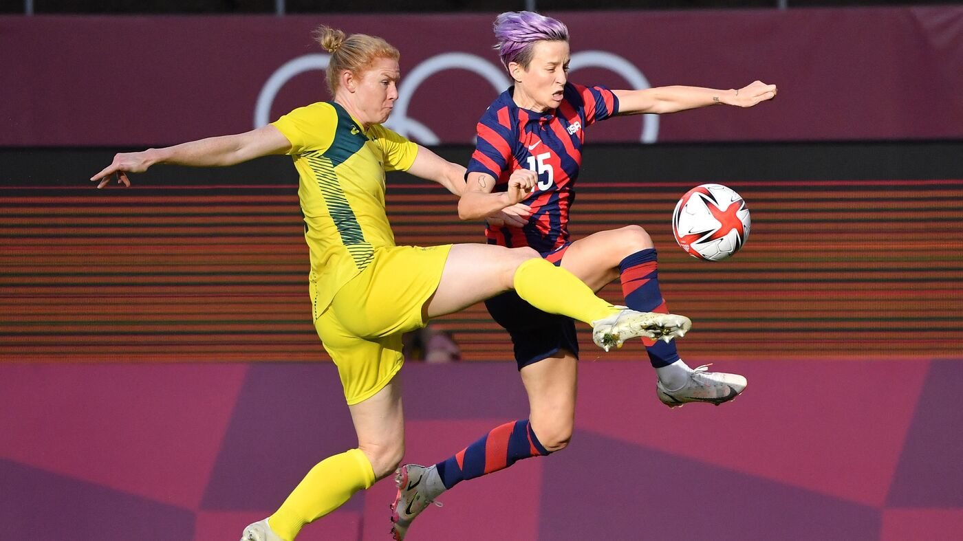The U.S. Women's Soccer Team Beats Australia To Win Bronze Medal At Tokyo Olympics